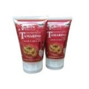 New Chaisikarin Tamrind Extract New Herbal Facial Scrub 150 G X 2 Pcs. Thailand