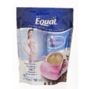 New Equal : 3in1 Coffee Instant Powder with Collagen 2,000 mg. (18 g x 10 Sachets) Product of Thailand