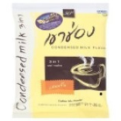 New Khao Shong : Coffee Mix Powder 3in1 Instant Coffee Condensed Milk Flavour 21g X 20 Sachets Most Wanted of Thailand