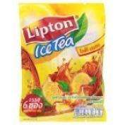 New Lipton Ice Tea Lemon Tea Mixes 15g X 6 Pcs Made in Thailand