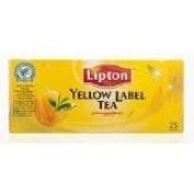 New Lipton Yellow Label Tea 2g. Pack 25sachets