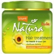 New Lolane Natura Hair Treatment for Nourish & Colour New Care + Sunflower Extracts 250g.