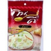 Tom Kha Instant Soup Powder Thai New Herbal Net Wt 40 G ( 40ml) Kin-dee Brand X 3 Bags