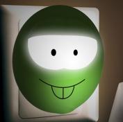 Creative Intelligent Nightlight / led energy saving light control plug / baby bedside lamp / night light bedroom room