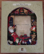 GRANDEUR NOEL COLLECTIBLE 13cm X 18cm HOLIDAY SANTA PHOTO FRAME