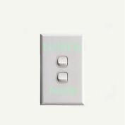 Happu-store(TM) 1 Pcs LUMOS & NOX Luminous Switch Wall Sticker Funny Abracadabra Home Decor