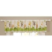 Carters Child of Mine Boys Safari Party Window Nursery Valance