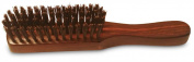 Boar Bristle Beard grooming Wood brush - Made of 100% pure boar bristles and wood
