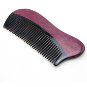 Cavin Schon Sandalwood Burgundy Beard & Hair Comb - Anti Static Hair Comb for Excellent results.