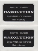 20 RAZOLUTION Double Edge Razor Blades - DELIVERY IN 6 TO 10 DAYS