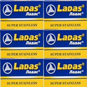 30 LADAS - SUPER STAINLESS Double Edge Razor Blades - DELIVERY IN 6 TO 10 DAYS