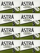 40 ASTRA - SUPERIOR PLATINUM Double Edge Razor Blades - DELIVERY IN 6 TO 10 DAYS