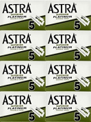 40 ASTRA - SUPERIOR PLATINUM Double Edge Razor Blades - DELIVERY IN 6 TO 10 DAYS