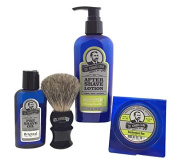 Colonel Conk Model 4022 Southwestern Sun 4pc Shave Kit with Soap
