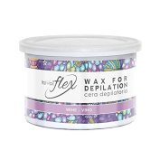 Italwax Soft Flex Wax Wine Wax Tin 400ml 13.5oz