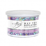 Italwax Soft Flex Wax Wine Wax Tin 400ml 13.5oz
