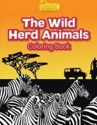 The Wild Herd Animals Coloring Book