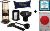 Aerobie AeroPress Coffee Maker with Tote Bag and Accessory Value Pack