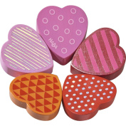 HABA Blooming Heart Wooden Clutching Toy