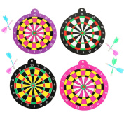 Child Safety Dart Ball Magnet Dart Board Set Toy Gifts 19 CM Random