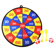 Child Safety Dart Ball Throwing Sport Darts Dart Board Set Toy Gifts 35.5 CM
