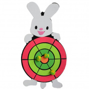 Lovely Safety Throwing Sport Darts Dart Board Set Toy Gifts Random Pattern-A2