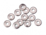 Nickel Silver Knurled Rivet Accent