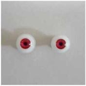Obitsu 6mm eyeball EY06-G12 Red