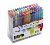 LolliZ® 70 Gel Pens Tray Set, 70 Unique Colour Choices