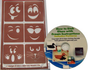 Goofy Face Stencils, Reusable Adhesive Etching Designs + How to Etch CD