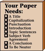 Your Paper Needs Teacher's Stamp