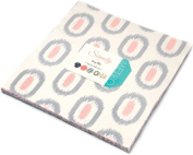 Serenity Layer Cake, 110cm - 25cm Precut Fabric Quilt Squares By Amy Ellis for Moda