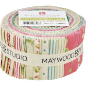 Welcome Home 6.4cm Strips Jelly Roll by Maywood Studio
