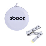 eBoot 150cm Retractable Measuring Tape and Soft Tape Measure, White