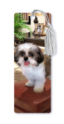 Dimension 9 3D Lenticular Bookmark with Tassel, Shih Tzu, Pet Breed Series