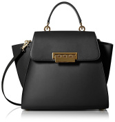 ZAC Zac Posen Women's Eartha Iconic Top-Handle Bag in Black