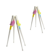 Miraclekoo Training Chopsticks for Children,4 Pair