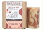 Biggs & Featherbelle Grizzly Bar Moisturise Soap 100ml