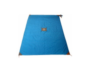Mega Monkey Mat - 1.5mx2.4m Portable Multi-Purpose Mat - Blue Yonder