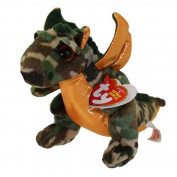 "New TY Beanie Boos Cute TY Beanie Baby - RAZOR the Dragon (6 inch) Plush Toys 6"" 15cm Ty Plush Animals Big Eyes Eyed Stuffed Animal Soft Toys for Kids Gifts ..."
