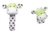 Lookie-Loos Animal Squeaker and Wrist Rattle Set (2 Pcs)