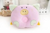Liroyal Cartoon pig baby pillow Infant bedding cotton baby shaping pillow Prevent Flat Head Flathead GIFT