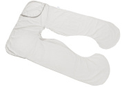 Today's Mom Cosy Comfort Pregnancy Pillow Replacement Cover, White