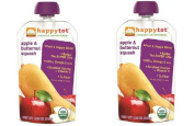 2 Pack Happy Tot Organic Superfood Baby Food, Apple & Butternut Squash Chia 120ml each