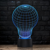 Unique Night Light Large Balloon 7 Colour LED Does Not Get Hot By rainbolights Ideal In A Nursery or bedroom a Great Unique Gift Idea