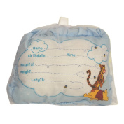 Disney Winnie the Pooh Birth Announcement Pillow with Pen, Boys or Girls