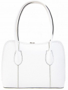 Handbag Bliss Vera Pelle Italian Leather Smooth Finish Stunning Handbag Shoulder Bag