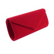 Clorislove Women's Retro Velvet Envelope Evening Clutch Bag Party Prom Handbag