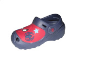 Boys Crocs Cloggs Spiderman