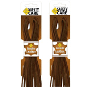 SafetyCare Heavy Duty Leather Boot & Shoe Laces -Great for Welding & Work Boots, Boat Shoes, Baseball Gloves, Arts & Crafts